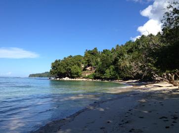 Kmaga Village Beach.