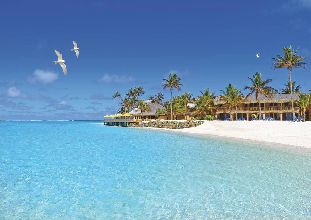 Sanctuary Rarotonga - on the beach