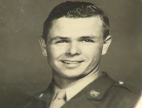 Herb Griffin as an 18 year old soldier.