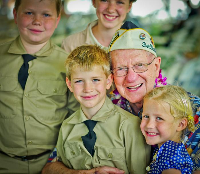 Mr. Dove loved the children.