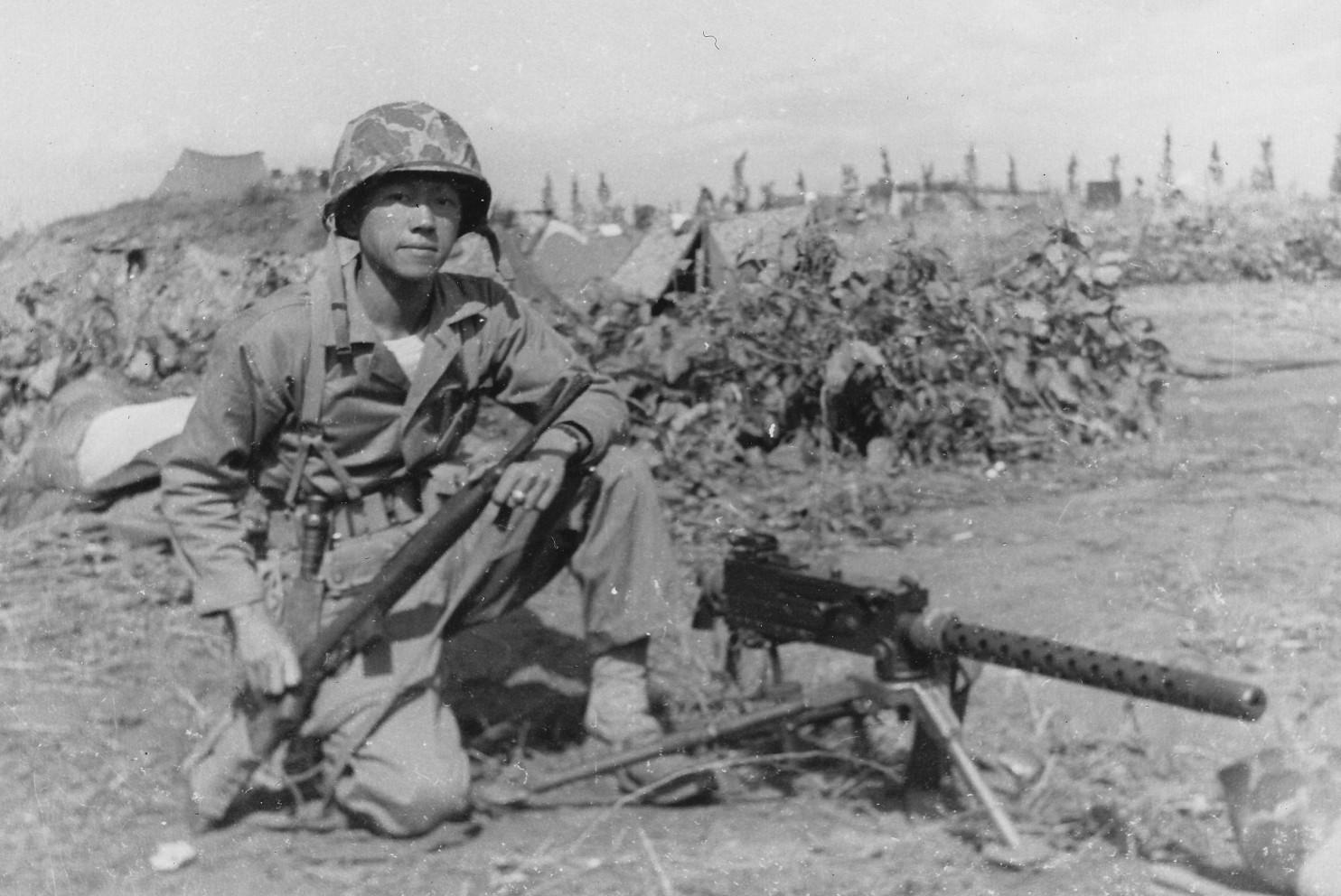 Lt. Kurt Chew-Een Lee in Korea