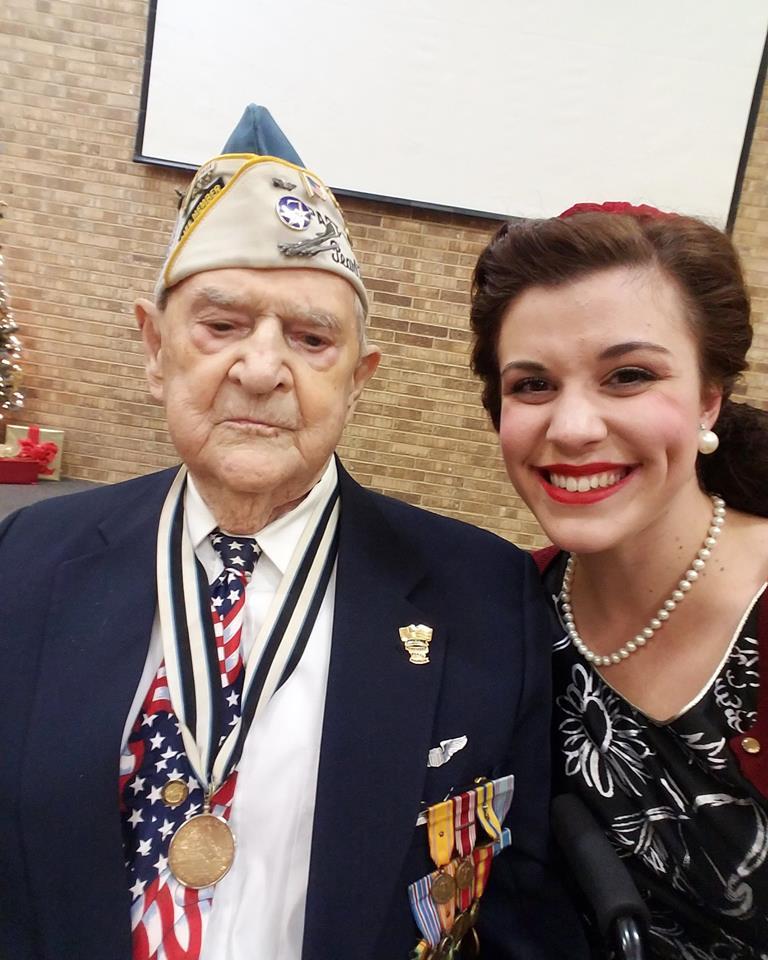 Pearl Harbor veteran Robert Tanner. USAF B-18 Bomber Pilot.