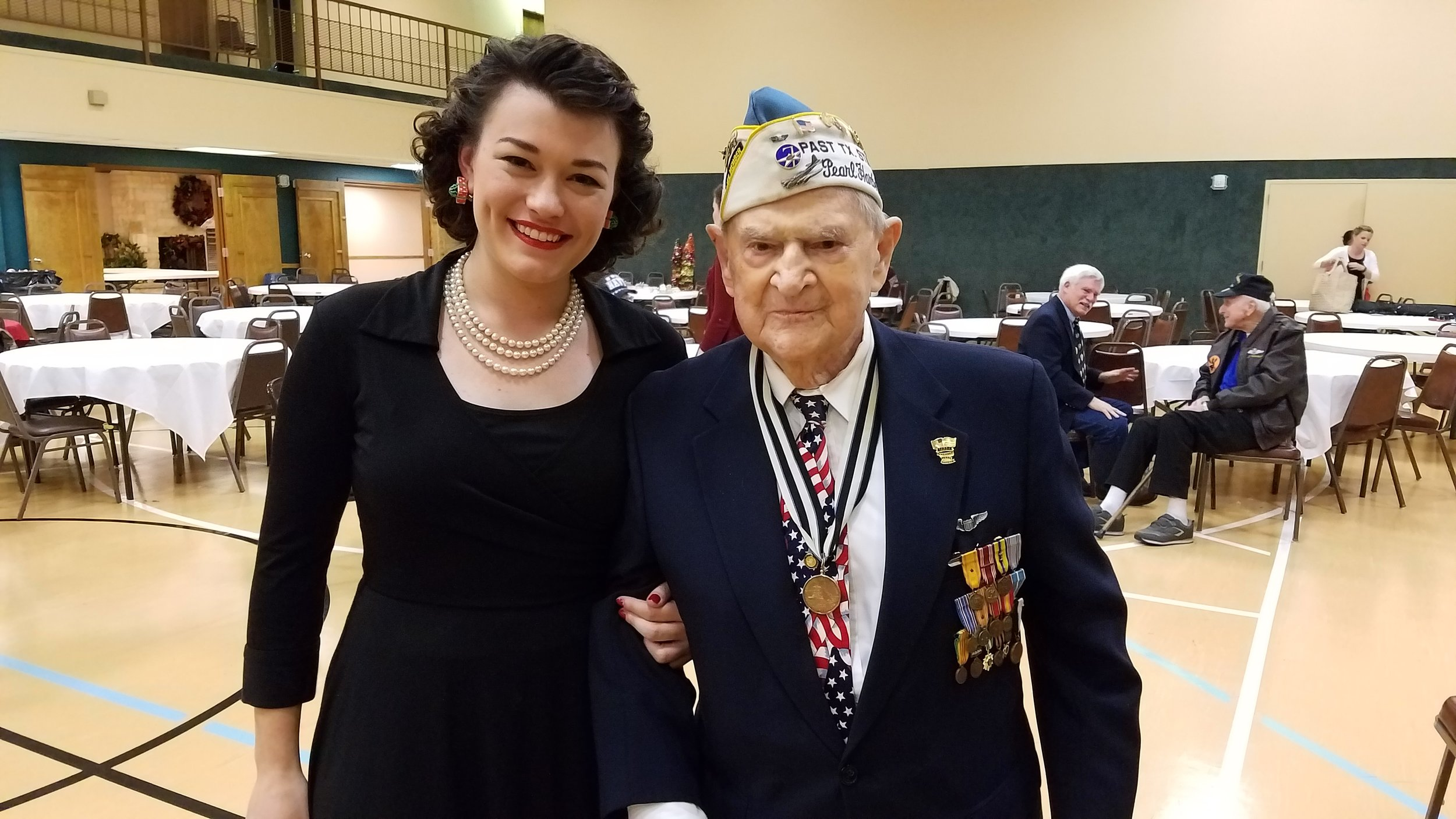 Jubilee and Pearl Harbor Survivor Robert Tanner