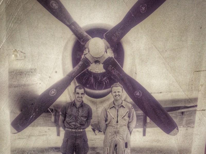 John Kelley (right)