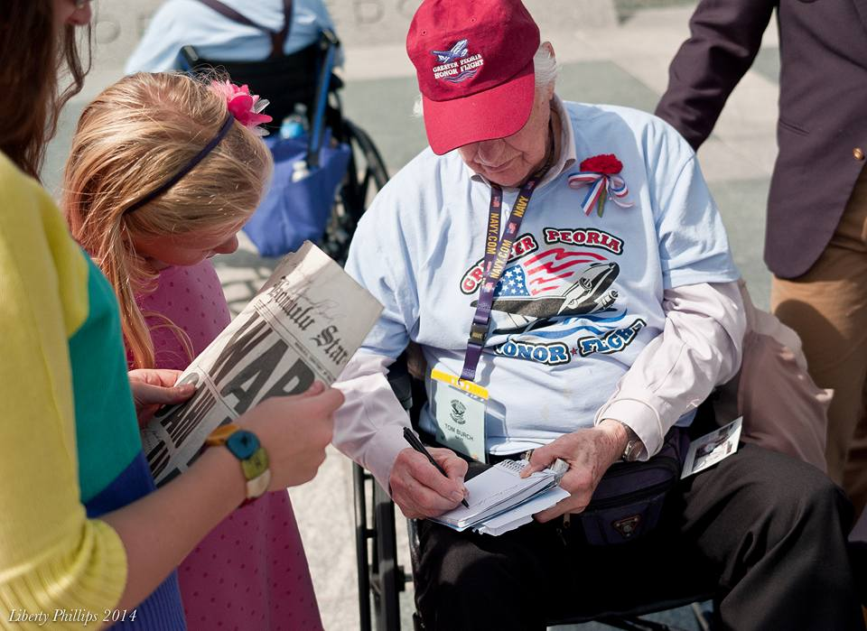 Greater Peoria Honor Flight - September 23, 2014