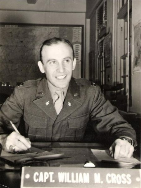 William M. Cross Jr.  December 26, 1917 -January 10, 2015  79th Infantry Division,314th Infantry Regiment, Co. H  European Theater (Normandy - DDay+5)