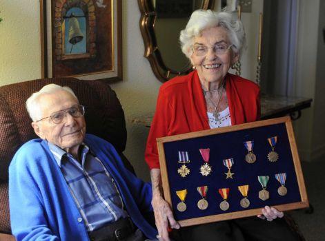 John Compton  December 26, 1913 - May 22, 2015  Air Force  Pearl Harbor