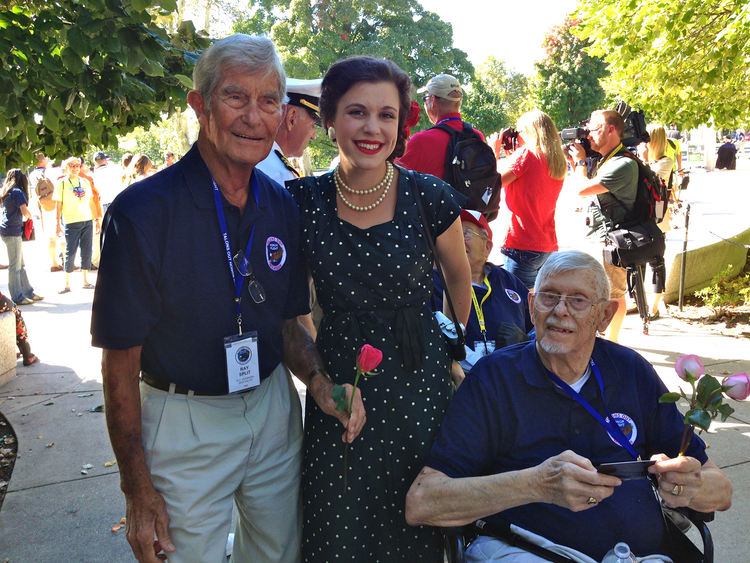 Ken Split (pictured right)  1926 -November 10, 2015  Navy - WWI