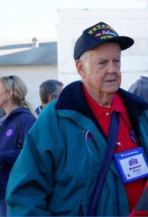 "Lt. Col. Robert ""Bob"" Walsh  July 23, 1926 - November 17, 2015  Navy (WWII), Army (Korea)"