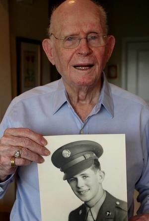 "William ""Bill"" Scott - Combat Medic  July 26, 1925 - November 24, 2015  9th Infantry Division  Normandy, Belgium, Germany"