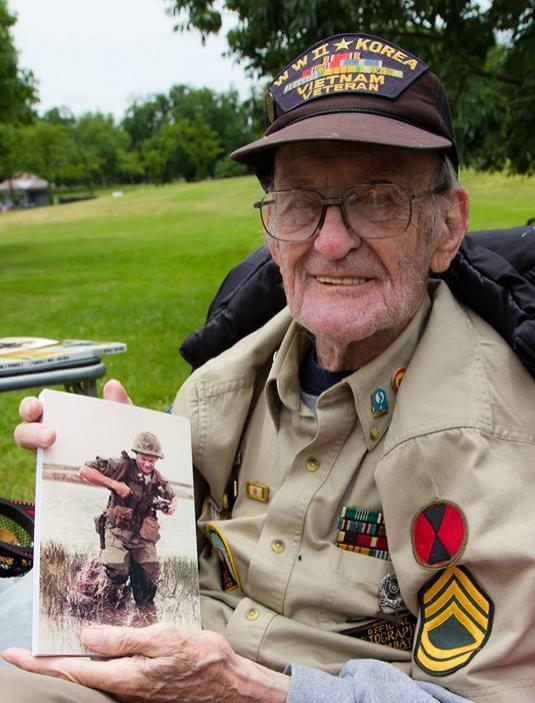 "Peter ""Rupy"" Ruplenas  October 5, 1918 - April 16, 2016  Army Air Corps  WWII, Korea, Vietnam"
