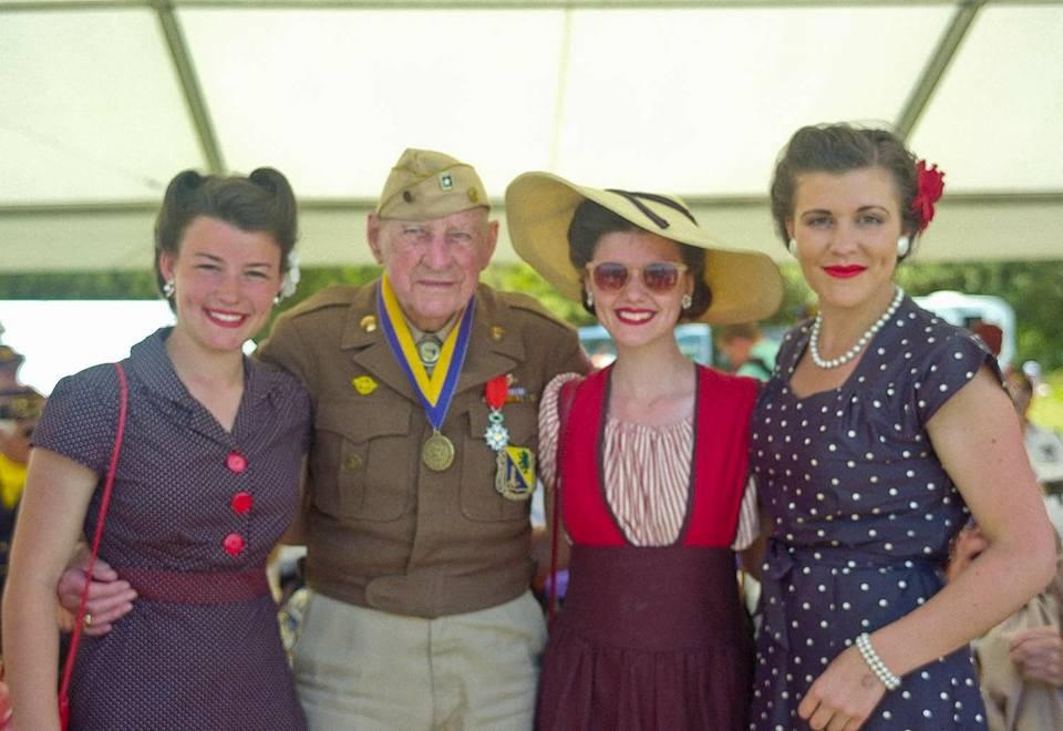 Raymond Sylvester  October 11, 1919 - November 1, 2016  Army  D-Day - Europe