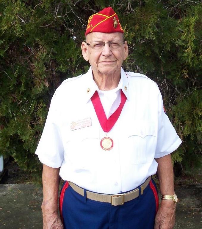 "Lawrence ""Larry"" Humphrey  June 7, 2017  Marine Corps - WWII  Iwo Jima"