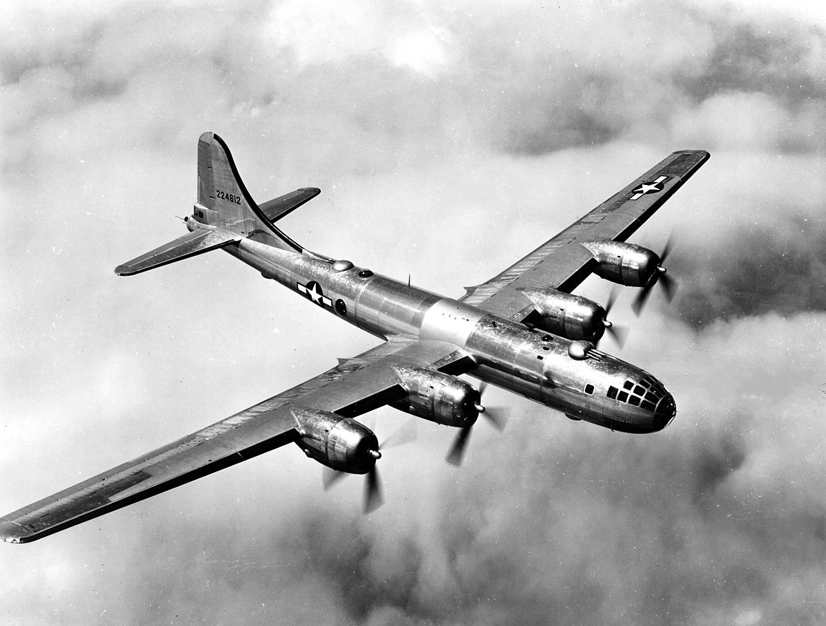 WWII B-29 Bomber