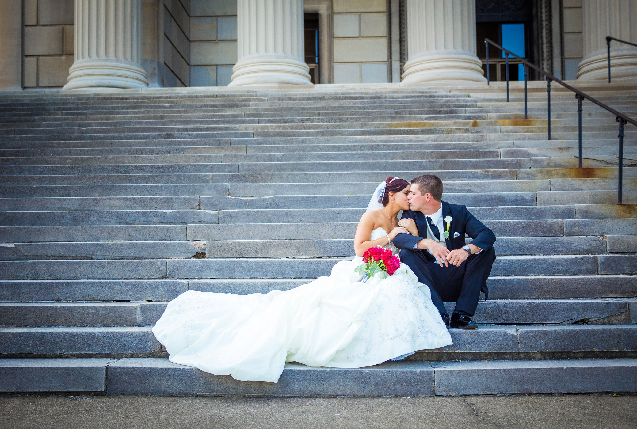 """Stephanie + David   """"The video turned out perfect! It lets us relive the best day ever, over and over again!"""""""