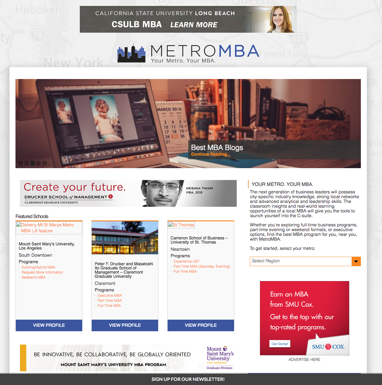 Ongoing work on metromba.com