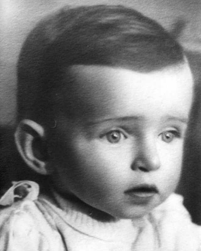 """Ruth Shternheld was born on Passover 1939 to Hella Friedlander and Izidor Shternheld.  In 1942, she was murdered in Treblinka.  She was only three years old.  This photograph is the only remaining fragment of Ruth Shternheld's short and tragic life.  One and a half million children were murdered in the #Holocaust, their names, identities and lives, wiped away.  One and a half million children, many murdered—like Ruth—without leaving a trace.  It is our shared responsibility to persist in our efforts to restore the identities of the six million Jews murdered in the Shoah."" -@YadVashem, the world Holocaust remembrance center.  #neverforget #iremember #shoah #holocaustremembranceday"