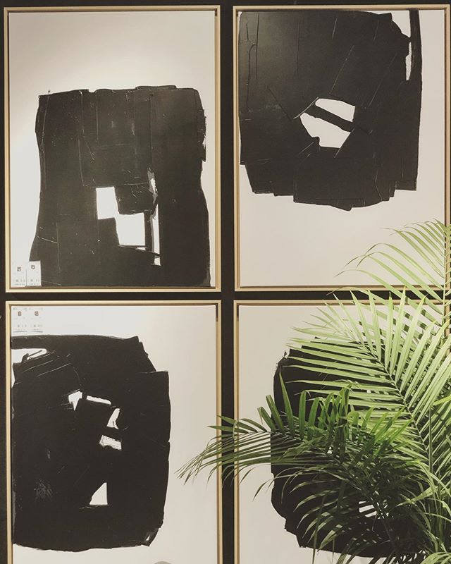 #ingoodFORM: we are elated with our new works for @leftbankart.  Please come see them (and us) at the showroom cocktail party, tomorrow 4/7/19 from 4:00 - 6:00 @highpointmarket #art #fineart #interiordesign #blackandwhite