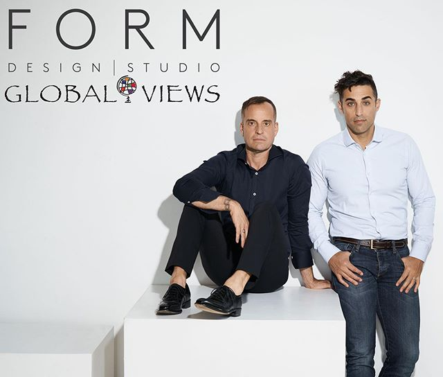 #ingoodFORM:  we are thrilled to announce the launch of FORM Design Studio for @globalviews, a total home furnishings collection. ... Swipe right to meet our Karl cabinet and Ege table lamp. ➡️