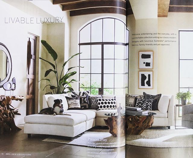 #ingoodFORM:  so wonderful to start the weekend spotting our #AboutWallArtSeries for @mgbwhome in their new #Fall2019 catalog.  #WeekendReading #LivableLuxury #DesignersWhoMakeArt