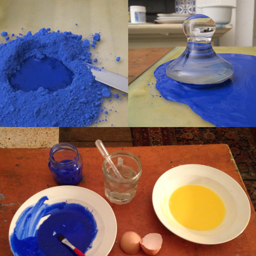 Preparation of pigments
