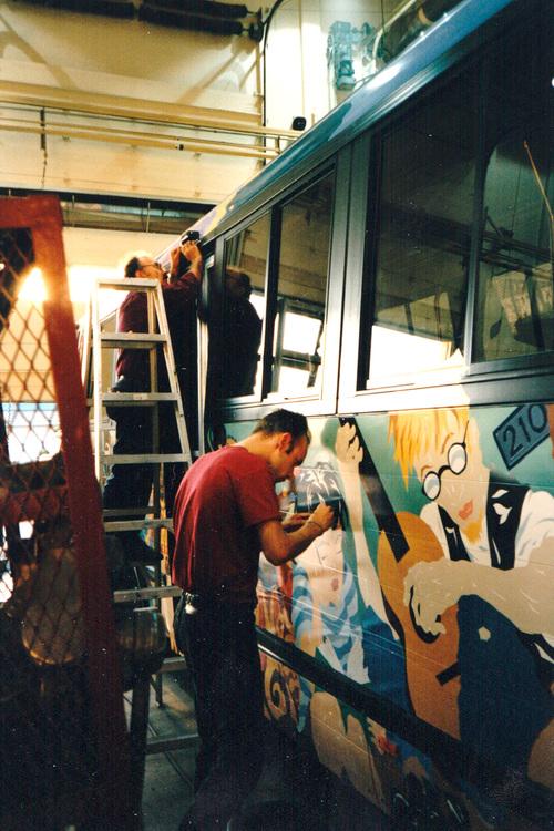 Portland TriMet Culture Bus