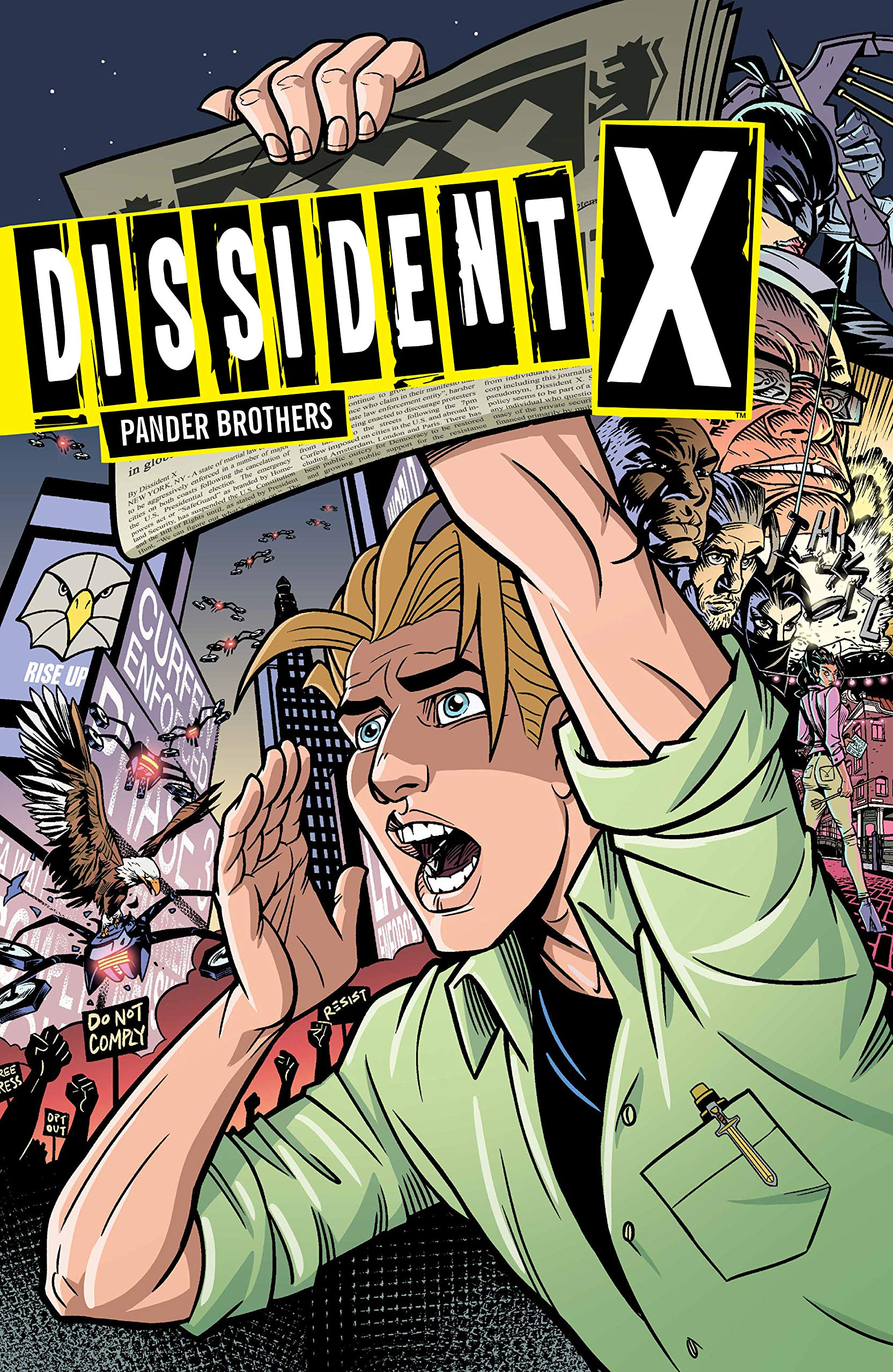 DISSIDENT X GRAPHIC NOVEL COMING NOVEMBER 2019