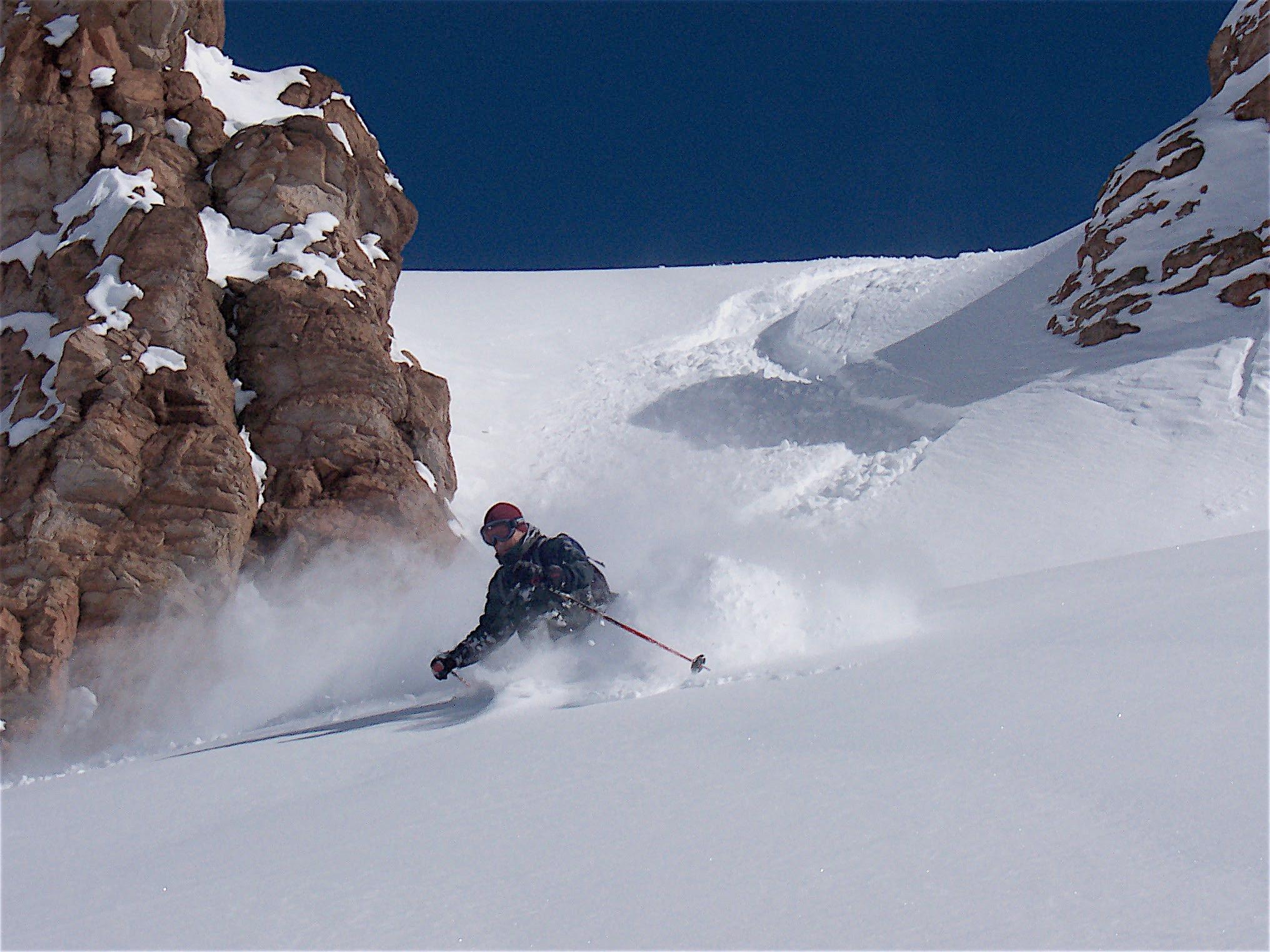 A powder day at El Colorado