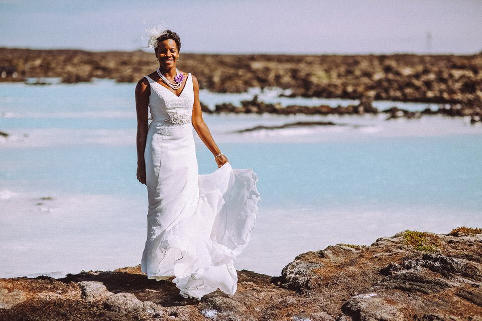 Iceland Blue Lagoon Bride