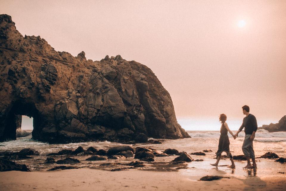 Intimate Engagement Session - Big Sur California (55 of 69).jpg