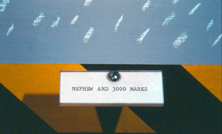 Nephew and 3000 Marks (detail)