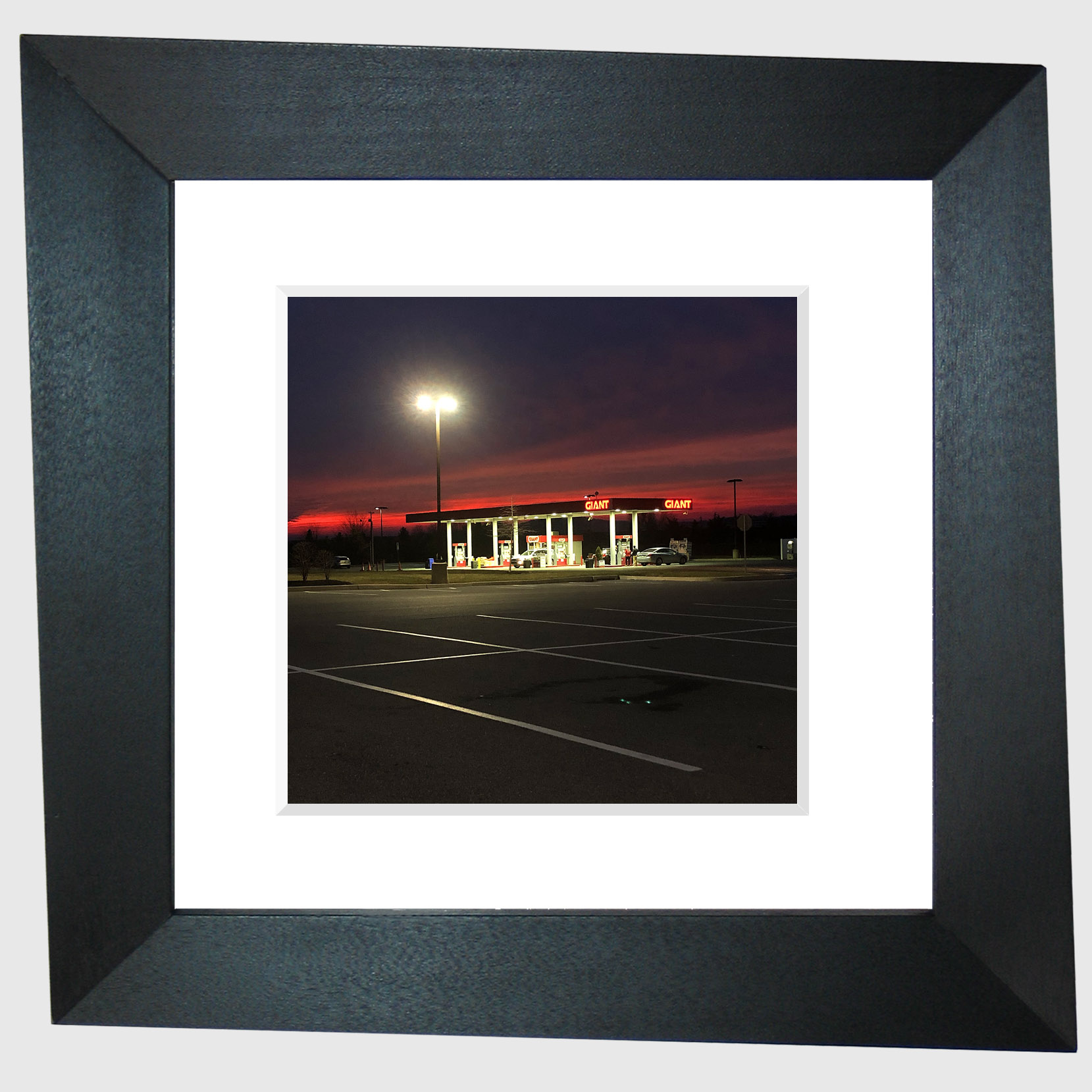 from the series Limited Access (Giant Sunset)