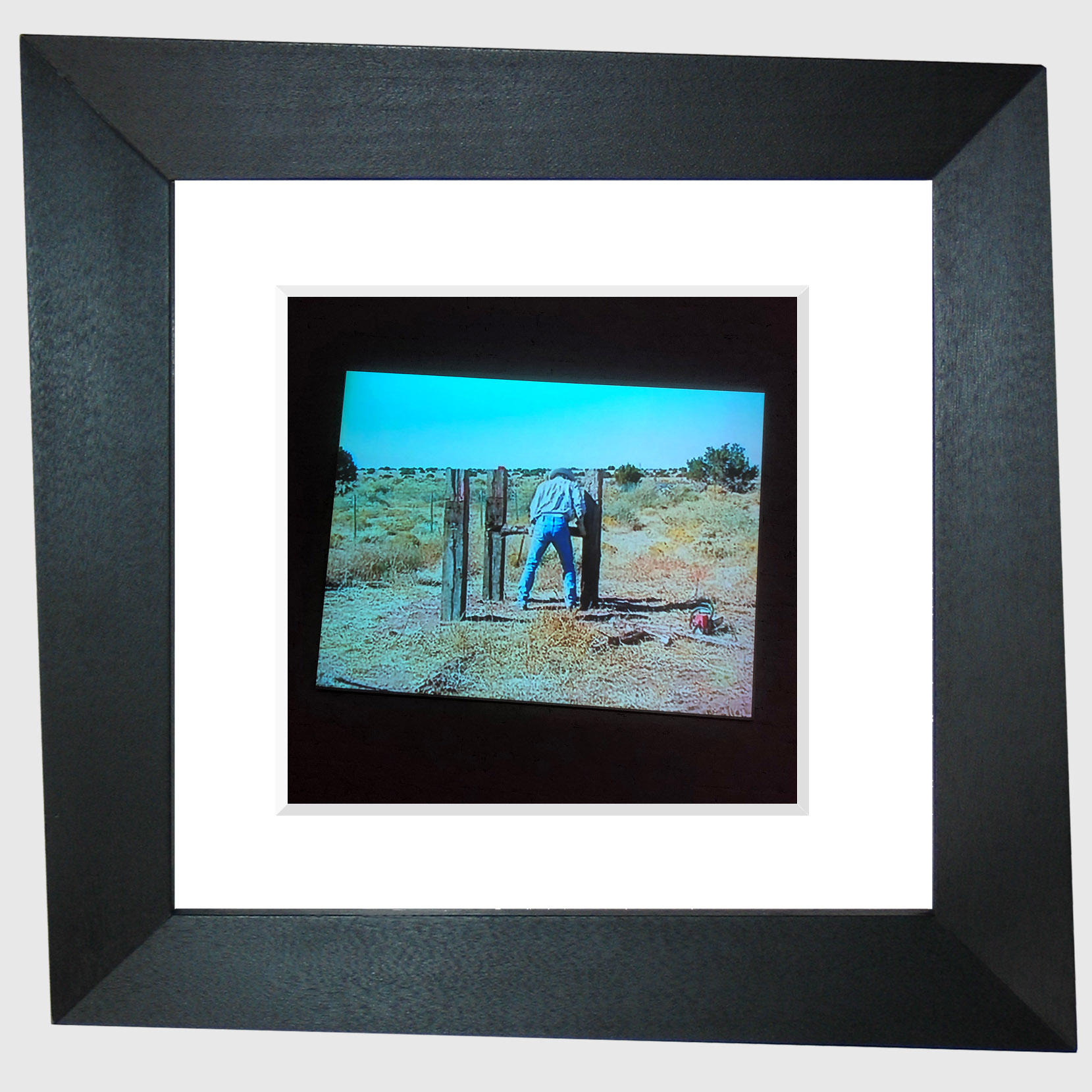 from the series Fixing Things With My Camera (Bruce Nauman)