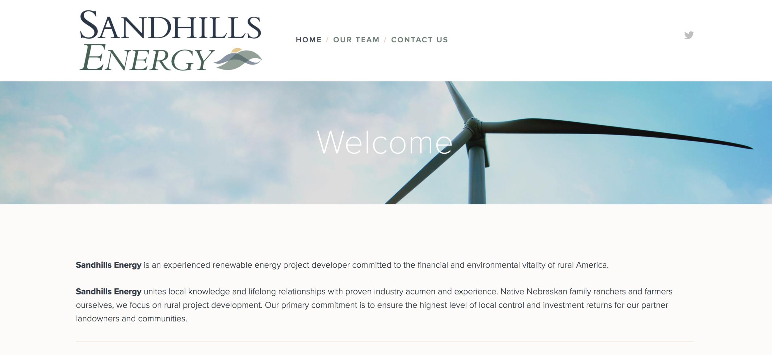Sandhills Energy