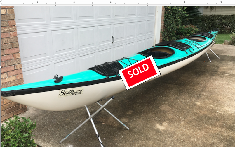 Seaward Southwind Tandem, Excellent condition. $1,200. 2beaswater@gmail.com