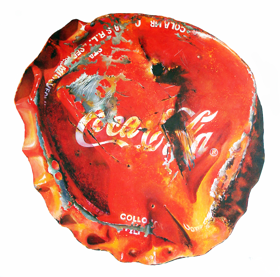 Coca Cola bottle top