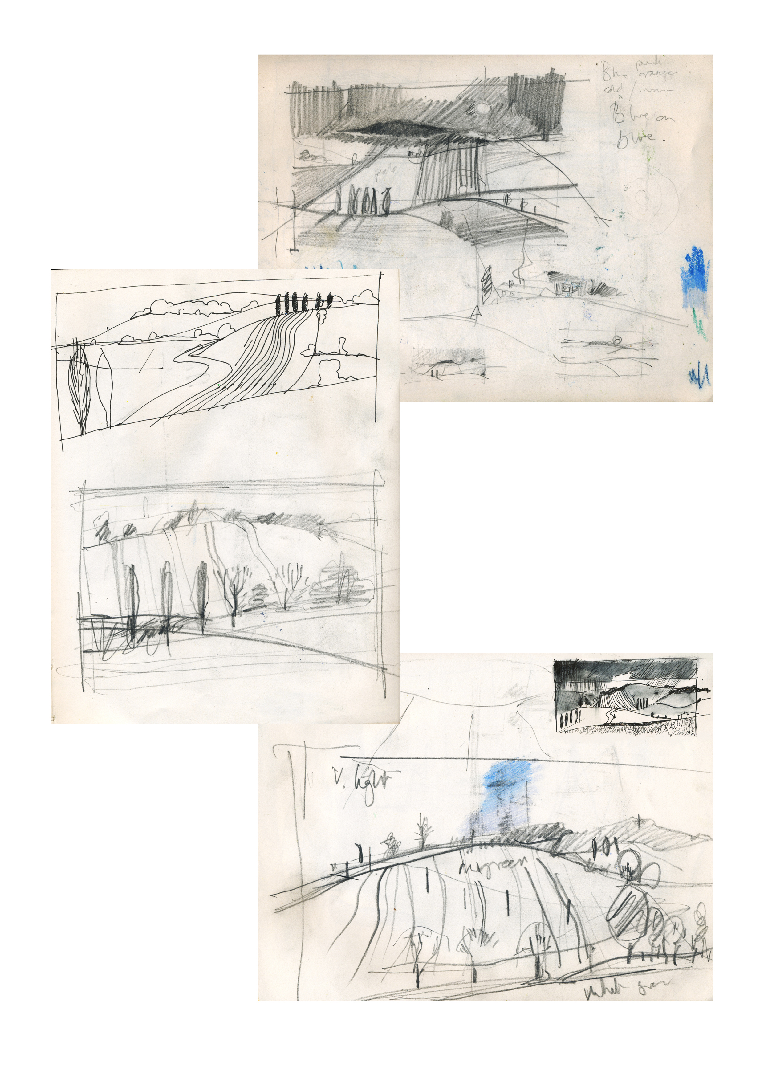 Sketches and Notes on a landscape