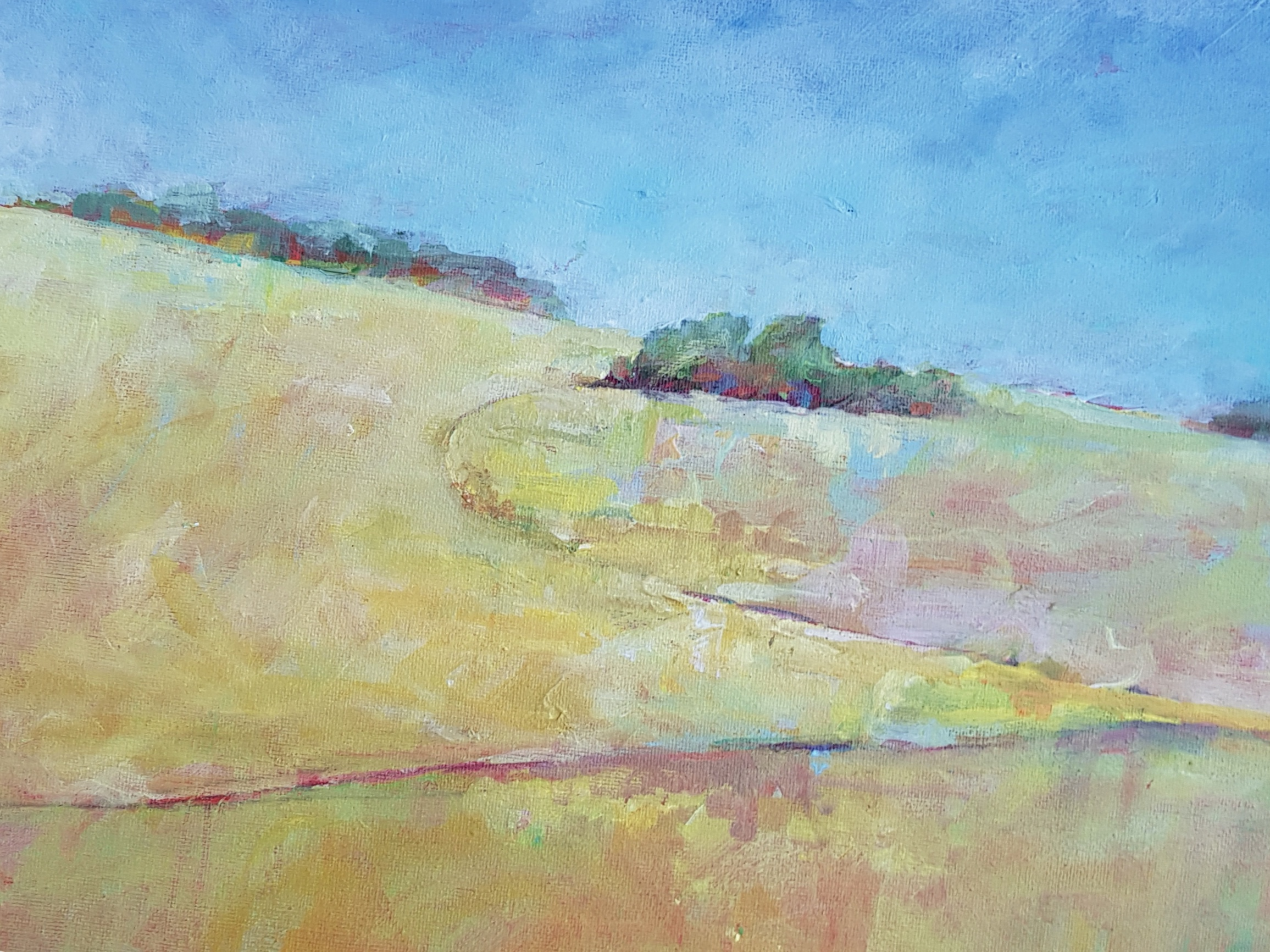 acrylics on canvas  30cm x 40cm