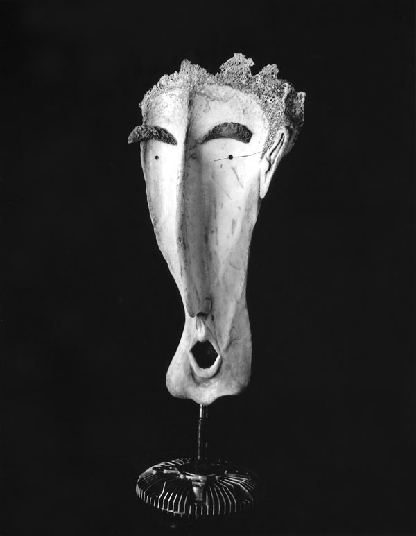 Singer - Bone Sculpture by Jerry Hardin
