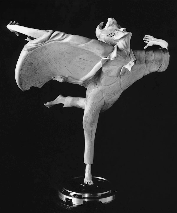 On the Wind - Bone Sculpture by Jerry Hardin