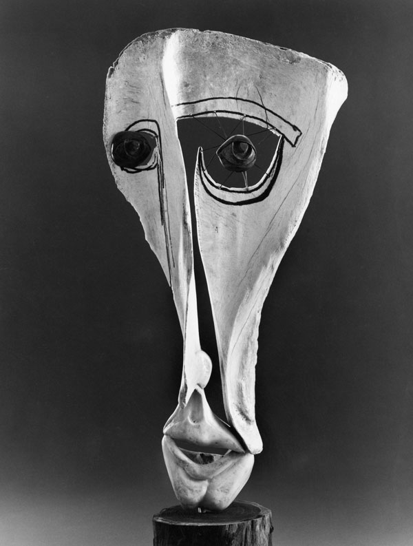 Face: Unnamed - Bone Sculpture by Jerry Hardin