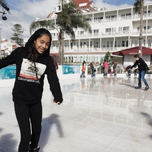 Hotel Del, ice skating | 2015