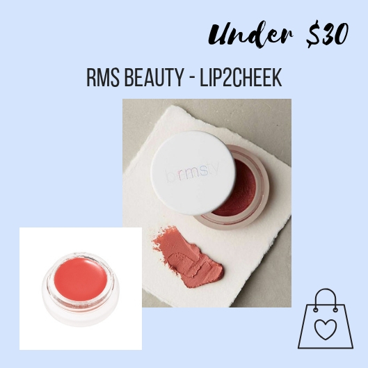 My friend Marissa introduced me to RMS Beauty, created by make-up artist Rose-Marie Swift, and I'm obsessed. All of the ingredients explained with transparency and actually heal and nourish your skin. Personally, I love that the packaging is minimal, and all of it is biodegradable, recyclable or reusable. My favorite beauty product from RMS Beauty is called Lip2Cheek, a stain that can be used as a blush or lip treatment. Also, read about why Rose-Marie created RMS beauty   here  . She is so inspiring.