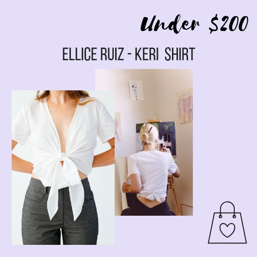 My Keri Top is a wrap top that can be styled for work or play. It's a great gift that will add versatility to any wardrobe.
