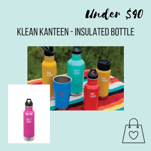 I love to give Klean Kanteen's insulated water bottles to friends and family. They help minimize the use of single-use plastic water bottles. These insulated water bottles are my favorite because keep my iced coffee cool in the summer and my herbal tea warm in winter.