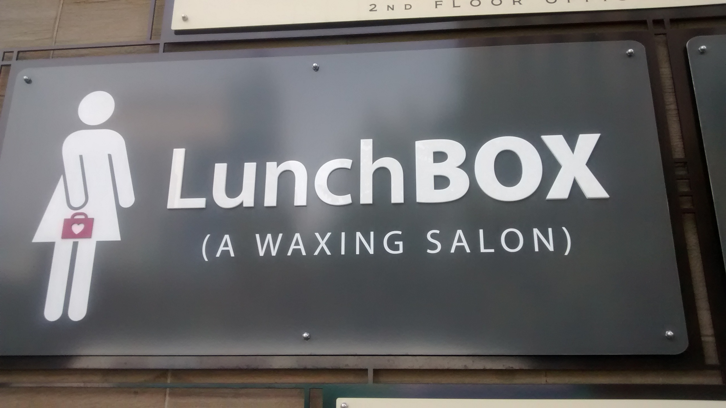 lunchbox ( A waxing salon)