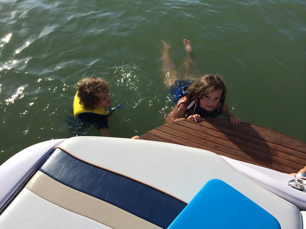 Success! More swimming.