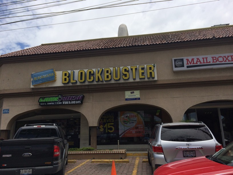 There's still Blockbuster's in MExico