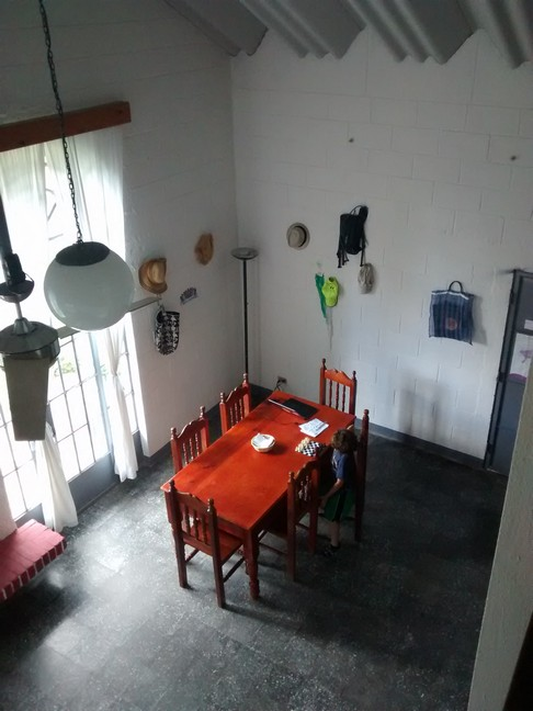View from the loft to the Dining Room