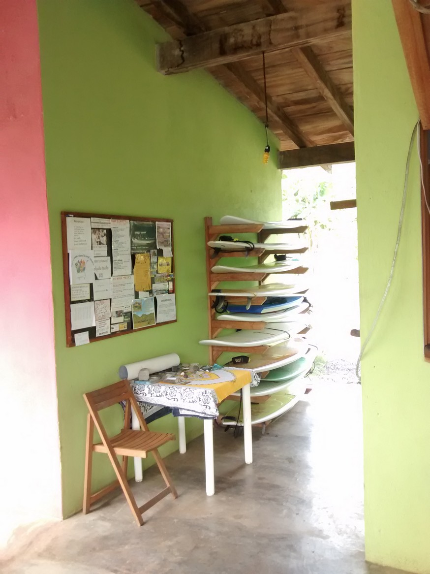 Just grab a board and get out there. When you get back you note how long you had it. They'll charge you when you leave.